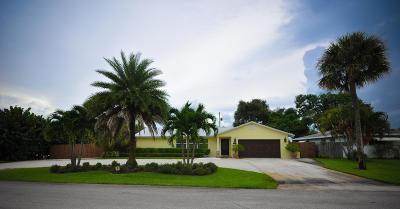 Palm Beach Gardens Single Family Home For Sale: 3880 Flag Drive
