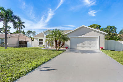 Delray Beach Single Family Home For Sale: 5317 Palm Ridge Boulevard