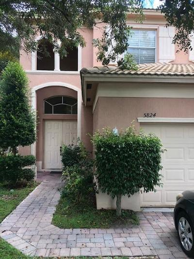 Fort Pierce Single Family Home For Sale: 5824 Spring Lake Terrace