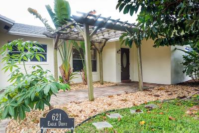 Delray Beach Single Family Home For Sale: 621 Eagle Drive