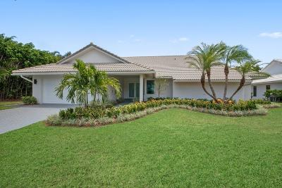 Delray Beach Single Family Home For Sale: 3850 Live Oak Boulevard
