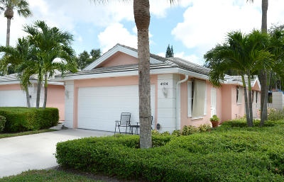 Palm Beach Gardens Single Family Home For Sale: 4104 Old Oak Drive