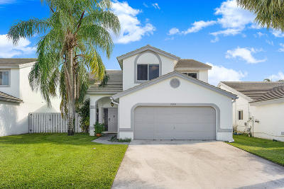 Lake Worth Single Family Home For Sale: 2910 Norway Pine Lane