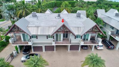 Delray Beach Townhouse For Sale: 1835 S Ocean Boulevard