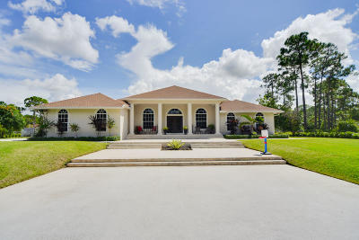 West Palm Beach Single Family Home For Sale: 15170 99th Street
