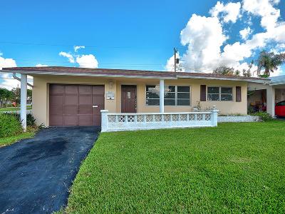 Tamarac Single Family Home For Sale: 2625 NW 53rd Street