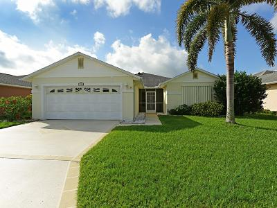 Fort Pierce Single Family Home For Sale: 6704 Picante Circle