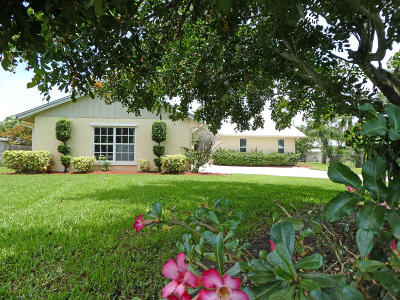 Stuart Single Family Home For Sale: 95 SE Saint Lucie Boulevard