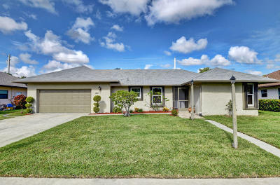 Delray Beach Single Family Home For Sale: 14897 Summersong Lane