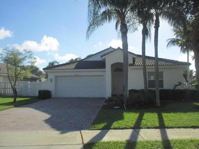 Lake Worth Single Family Home For Sale: 5309 Oakmont Village Circle
