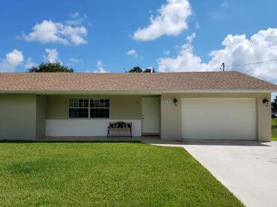 Boynton Beach Single Family Home For Sale: 514 NW 7th Court