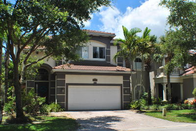 Boynton Beach Single Family Home For Sale: 4094 Woodhill Place