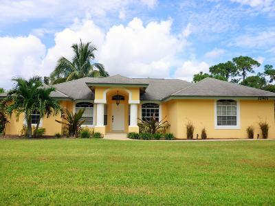 West Palm Beach Single Family Home For Sale: 12401 Temple Boulevard