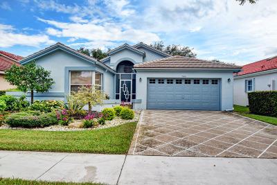 Boynton Beach Single Family Home For Sale: 7940 Sailing Shores Terrace