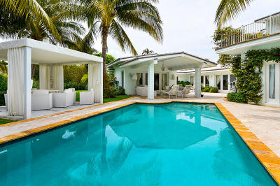 Palm Beach Single Family Home For Sale: 1436 Ocean Way