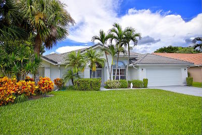 Lake Worth Single Family Home For Sale: 7593 Windermere Court