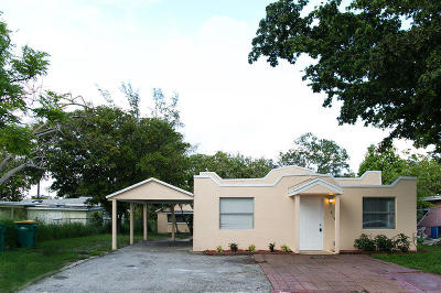 Lake Worth Single Family Home For Sale: 618 S Pine Street