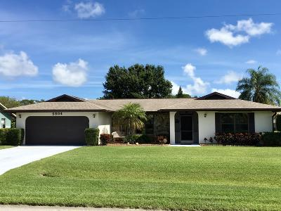 Fort Pierce Single Family Home For Sale: 5504 Paleo Pines Circle
