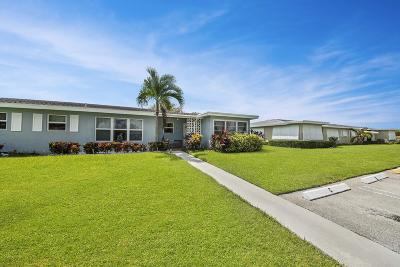 Boynton Beach Single Family Home For Sale: 260 High Point Court #D