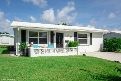 Boynton Beach Single Family Home For Sale: 1803 SW Congress Boulevard
