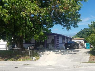 Boynton Beach FL Single Family Home For Sale: $169,900