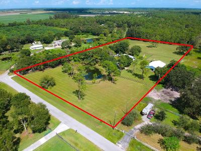 Loxahatchee Single Family Home For Sale: 6296 188th Trail
