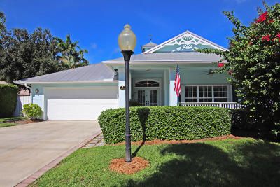 Jupiter Single Family Home For Sale: 19017 SE Loxahatchee River Road
