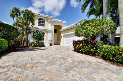 Delray Beach Single Family Home For Sale: 16143 Villa Vizcaya Place