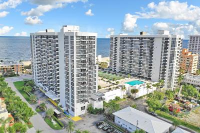 Pompano Beach Condo For Sale: 531 Ocean Boulevard #1201