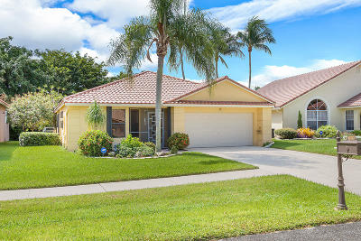 Boca Raton Single Family Home For Sale: 10332 Islander Drive