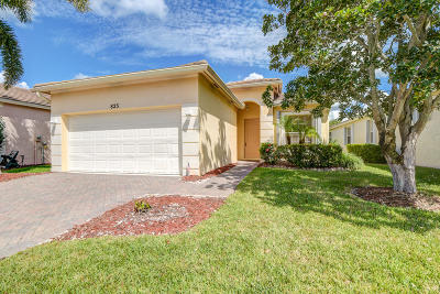 Port Saint Lucie Single Family Home For Sale: 823 SW Rocky Bayou Terrace
