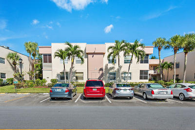 Delray Beach Condo For Sale: 350 Burgundy H