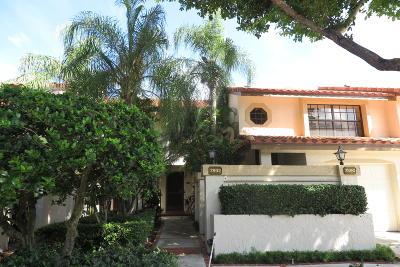 Boca Raton Condo For Sale: 7890 La Mirada Drive