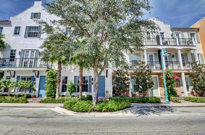 Delray Beach Townhouse For Sale: 377 E Cannery Row Circle