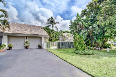 Boca Raton Single Family Home For Sale: 9717 Erica Court