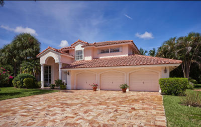 Boca Raton Single Family Home For Sale: 19203 Black Mangrove Court