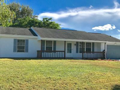 Port Saint Lucie Single Family Home For Sale: 734 SW Bridgeport Drive