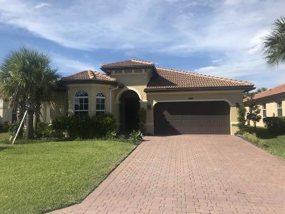 Lake Worth Single Family Home For Sale: 4981 Manchia Drive