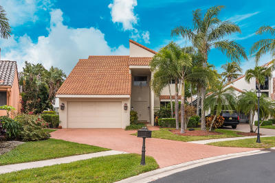 Boca Raton Single Family Home For Sale: 17185 Newport Club Drive
