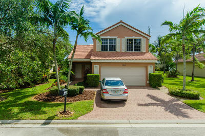 Delray Beach Townhouse For Sale: 5557 American Circle