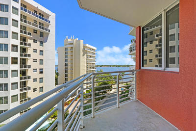 West Palm Beach Condo For Sale: 1551 Flagler Drive #706
