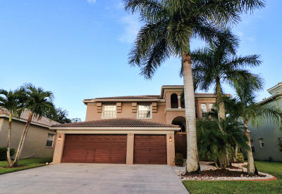 Royal Palm Beach Single Family Home Contingent: 2139 Bellcrest Court