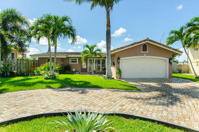 Fort Lauderdale Single Family Home For Sale: 2543 Marathon Lane