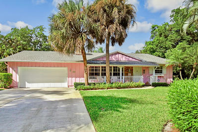 Jupiter Single Family Home For Sale: 5641 Shirley Drive