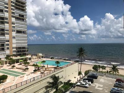 Fort Lauderdale Rental For Rent: 4250 Galt Ocean Drive #6 L