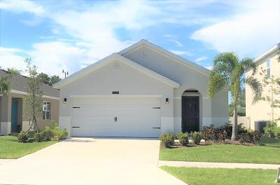 Port Saint Lucie Single Family Home For Sale: 11356 SW Patterson Street
