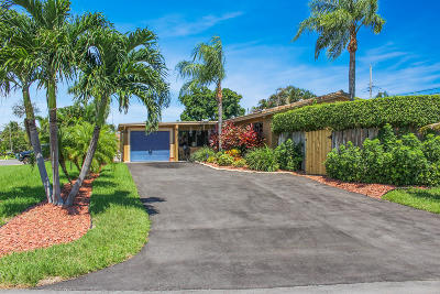 Boca Raton Single Family Home For Sale: 4072 NW 2nd Terrace