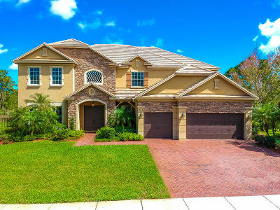 Palm City Single Family Home For Sale: 761 SW Canoe Creek Terrace