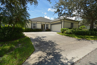 Vero Beach Single Family Home For Sale: 7933 Cabot Tower Place