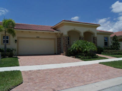 Port Saint Lucie Single Family Home For Sale: 10160 SW Azzo Lane